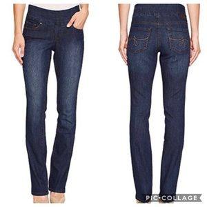 JAG Jeans High Rise Boot Leg Pull On Denim Jeans